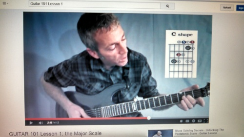 major scale exercise